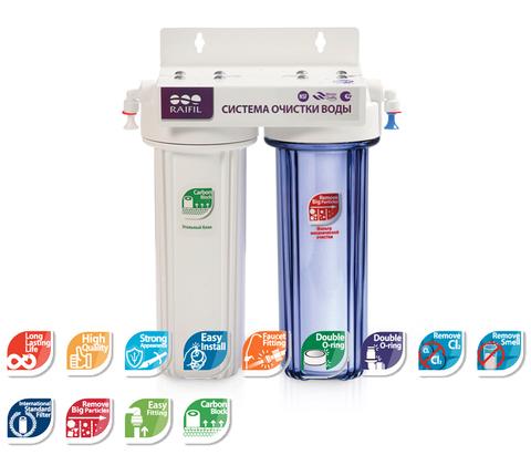 Raifil DUO / PU905W2 Проточный питьевой фильтр