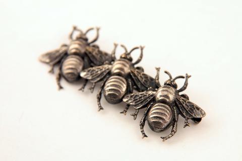 Оригинальная брошь «Пчелы» от Joseff of Hollywood