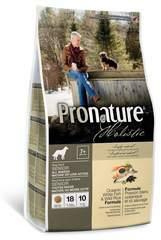 Корм для взрослых и пожилых собак всех пород, Pronature Holistic, с океанической белой рыбой и диким рисом