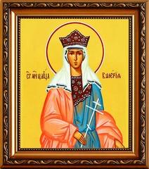 Валерия Римская, мученица, царица. Икона на холсте.
