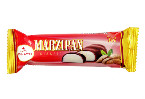 Марципановый  батончик в темном шоколаде