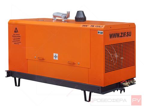 Дизельный компрессор 12000 л/мин 10 бар без шасси