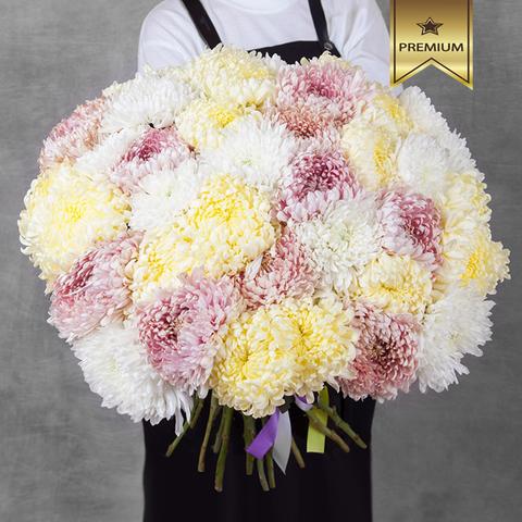 Букет королевских хризантем