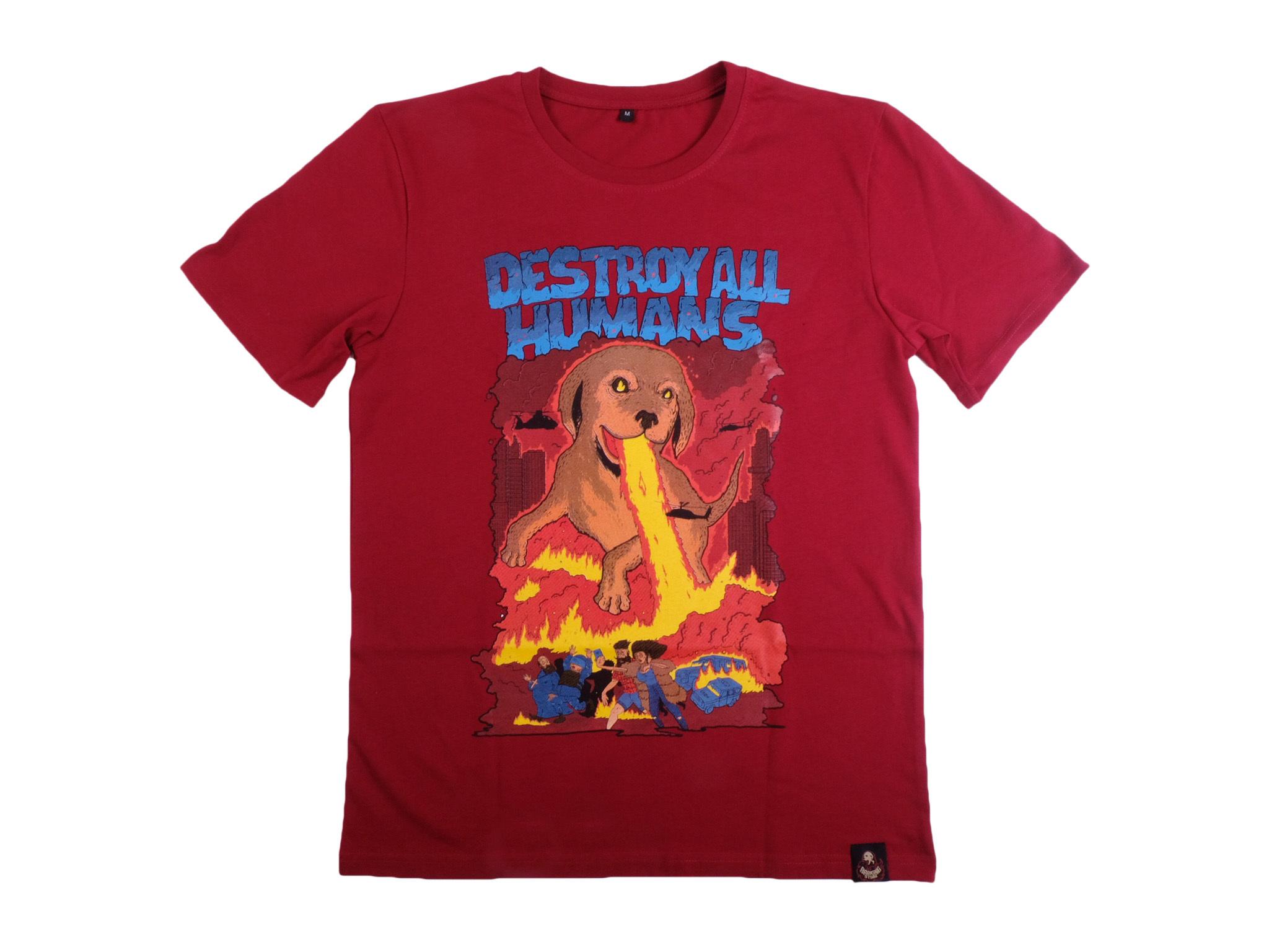 Догзилла / двусторонняя футболка