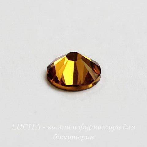 2058 Стразы Сваровски холодной фиксации Topaz ss30 (6,32-6,5 мм) ()