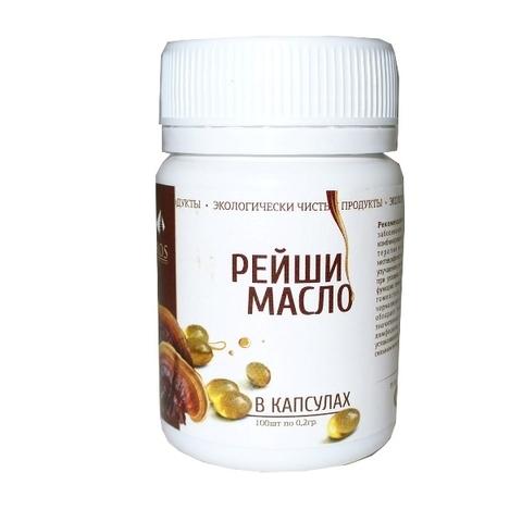 Масло РЕЙШИ 100 капсул по 0,2 г (Рось)