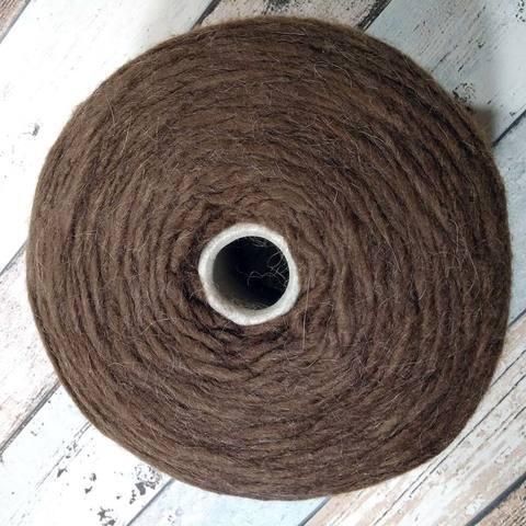 Смесовка с альпакой Pecci Filati Bellone melang 120 коричневый