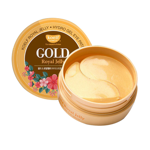 Petitfee Гидрогелевые патчи Koelf Gold & Royal Jelly Eye Patch