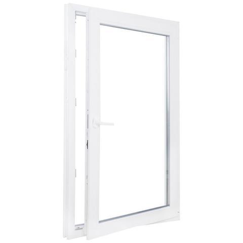 Окно ПВХ одностворчатое 120х100 см поворотное правое  по ОПТОВОЙ цене - Купить в Казани