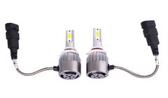 Комплект LED ламп головного света C6 HB3, 12v (вентилятор)
