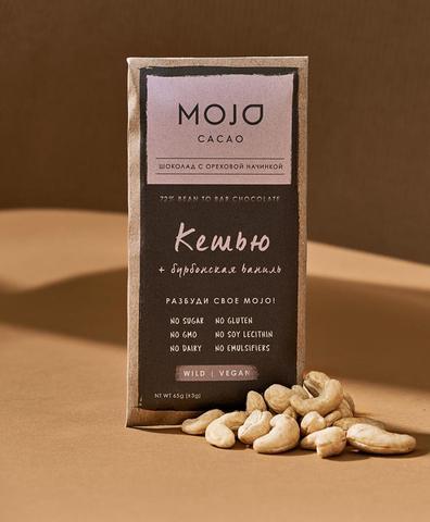 Горький шоколад Mojo Кешью