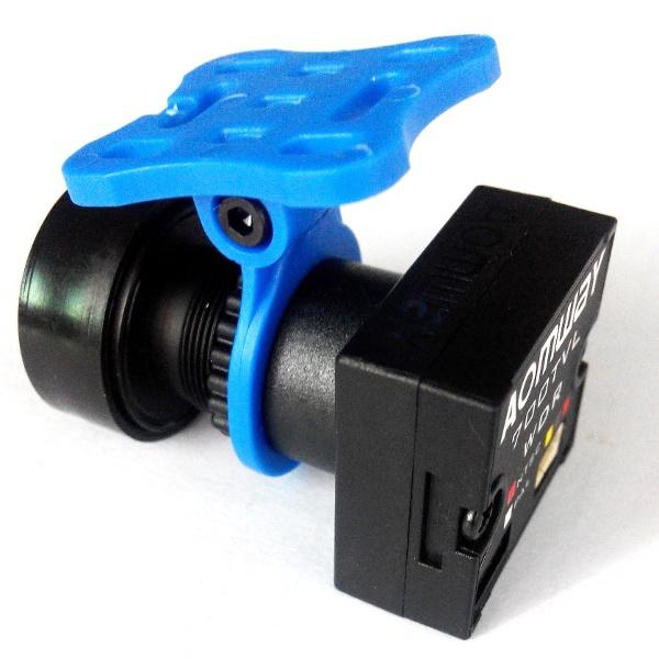 Вариант крепления курсовой камеры с помощью пластикового маунта