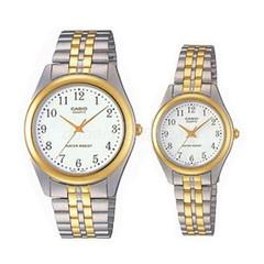 Парные часы Casio Standard: MTP-1128G-7B и LTP-1128G-7B