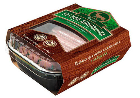 Колбаски для жарки из мяса оленя, 500г