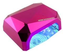 Кристалл многогранник УФ LED+CCFL (36 Вт) гибридная лампа для гель-лаков и геля