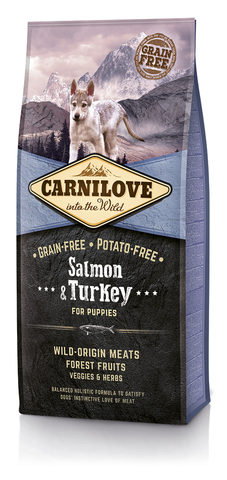 Brit Carnilove Salmon & Turkey Puppies