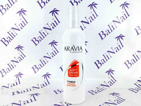 ARAVIA Сливки для восстановления рН кожи с маслом иланг-иланг (флакон с дозатором) 300 мл
