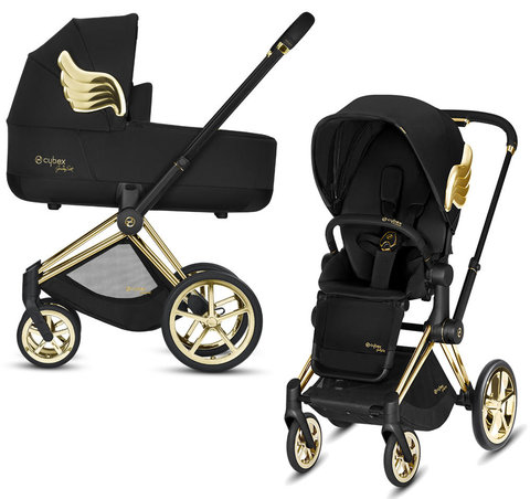 Коляска 2 в 1 Cybex Priam III Jeremy Scott Wings
