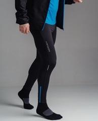 Тайтсы беговые Nordski Premium Black-Blue 2020