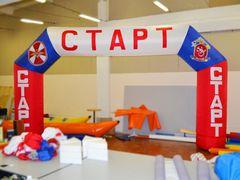 Надувная арка Старт - Финиш для спортивных мероприятий