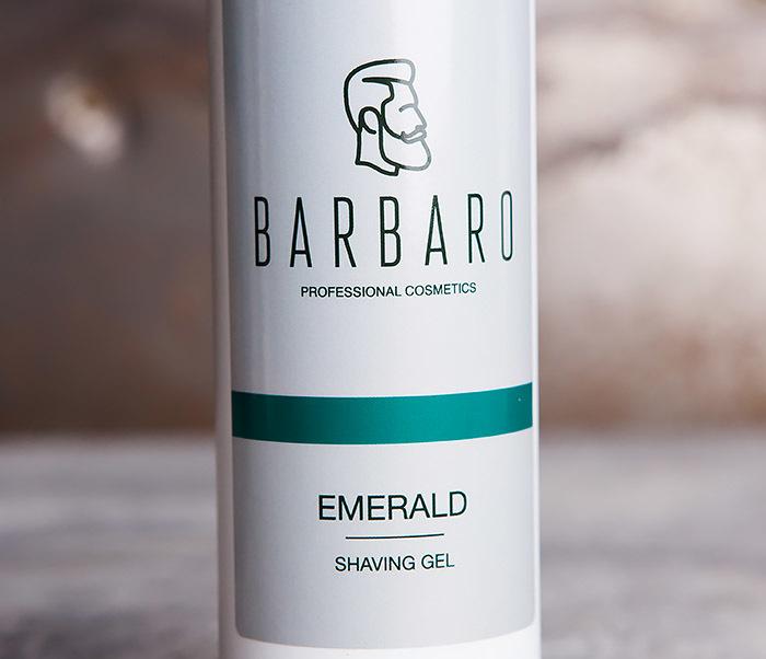 RAZ1035 Гель для бритья EMERALD от Barbaro (200 мл) фото 02