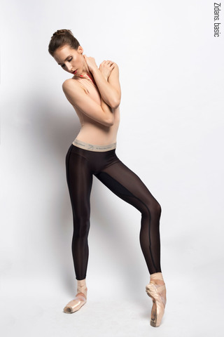 Translucent Ziphirus leggings Zlack | black