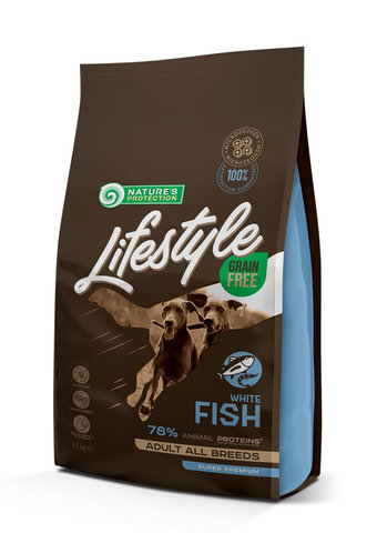 Grain Free White Fish Adult All Breeds food for dogs