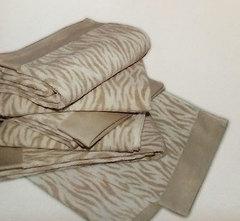 Набор полотенец 5 шт Caleffi Tropical бежевый