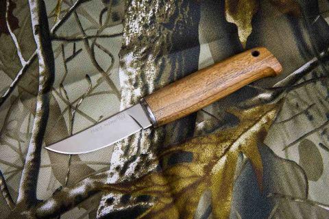 Туристический нож Норд Малый Полированный Орех