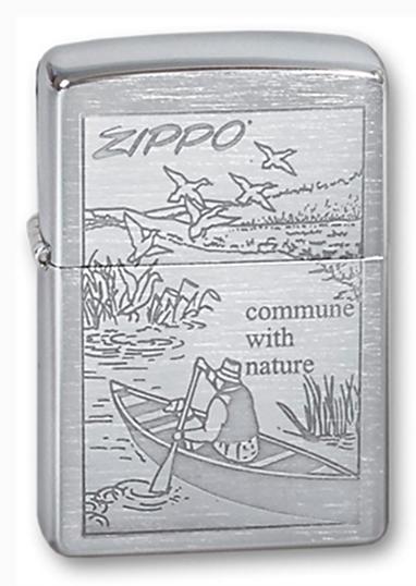Зажигалка Zippo №200 Row Boat