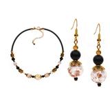 Комплект ожерелье и серьги Eleganza цвет 004POIS