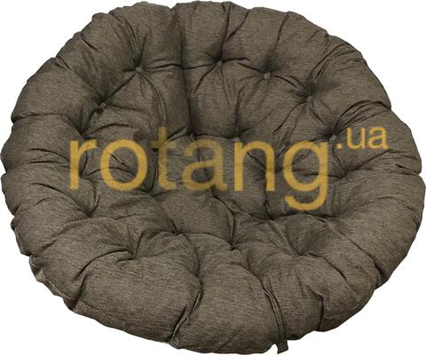 Подушка на кресло Папасан Коричневая