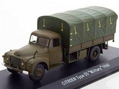 1:43 Citroen Type 55 Military (бортовой грузовик с тентом) 1960