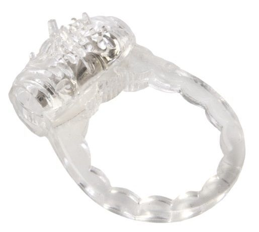 Эрекционные кольца: Прозрачное виброкольцо