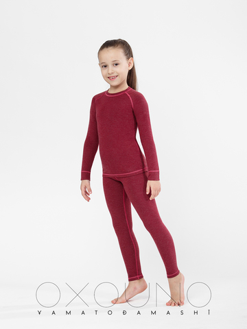 Детский термокомплект для девочек Oxo 0104 Anka  Oxouno