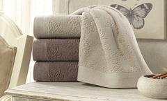 LEAF JAKARLI  полотенце махровое Soft Cotton (Турция)