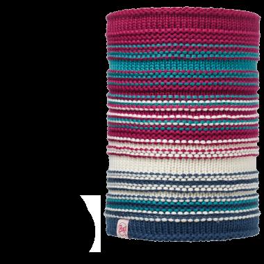 Вязаный шарф-труба с флисовой подкладкой Buff Amity Pink Cerisse