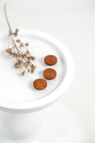 Деревянные пуговицы  12, 14 мм