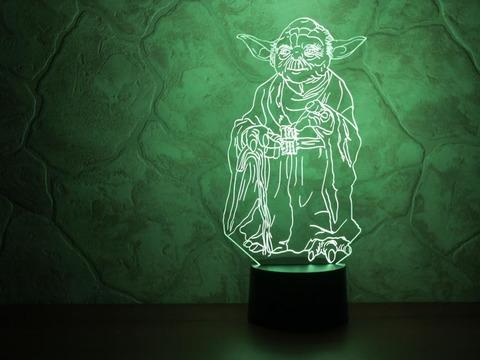 3D ночник Йода