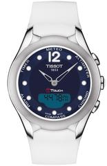 Женские часы Tissot T075.220.17.047.00 T-Touch Solar