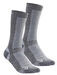 Термоноски утеплённые Craft Warm XC Grey (2 пары)