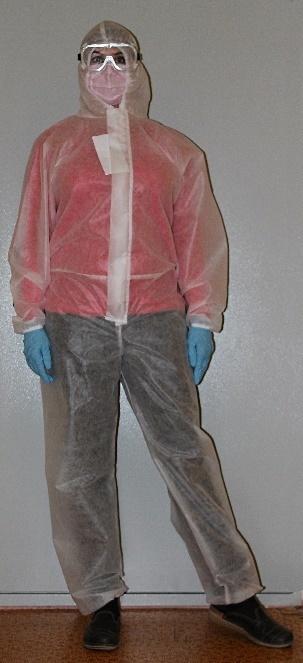 Комбинезон Каспер с капюшоном «Швейный Дом» 100 мкм
