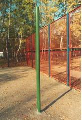 Стойки волейбольные уличные бетонируемые (комплект).