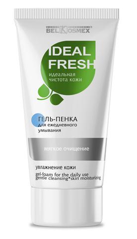 BelKosmex IDEAL FRESH Гель-пенка для ежедневного умывания,мягкое очищение кожи 80г