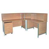 Набор мебели для мед. сестры НММС-3 на 2 рабочих места (из ЛДСП)