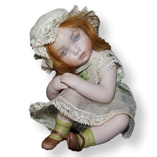 Статуэтки Кукла фарфоровая коллекционная Marigio Lucetta kukla-farforovaya-kollektsionnaya-marigio-lucetta-italiya.jpeg