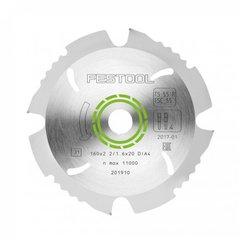 Пильный диск с алмазным зубом 160x2,2x20 DIA4
