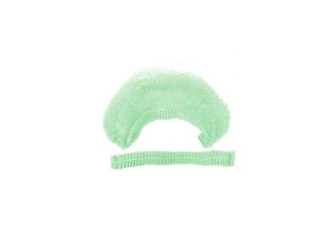Шапочка одноразовая 100 шт зеленая