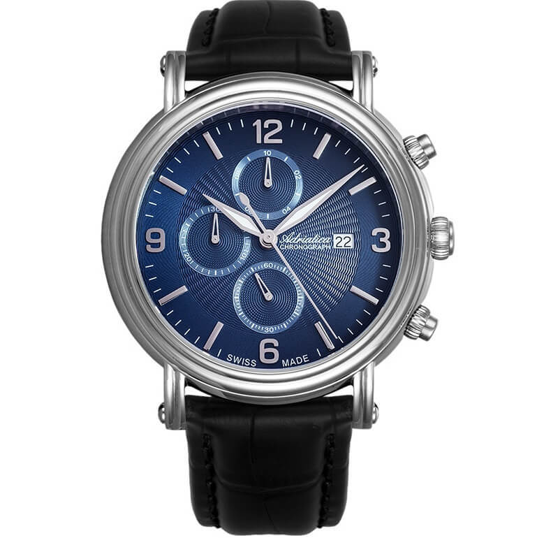Мужские швейцарские наручные часы