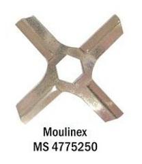 Нож мясорубки MOULINEX шестигранник MS-4775250